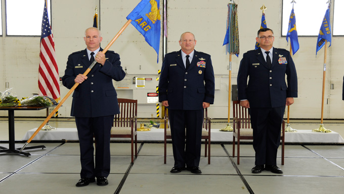 127th Air Refueling Group Change of Command